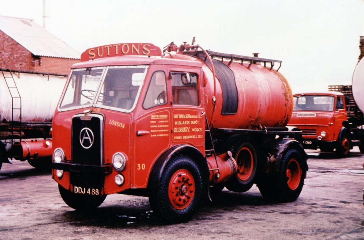 Suttons history - Old tanker