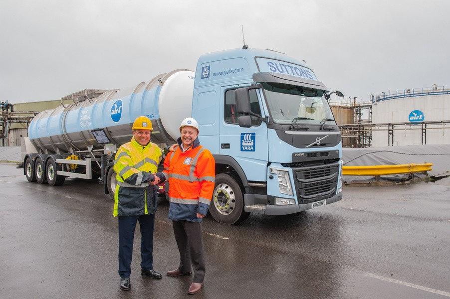 Suttons wins new contract with Yara