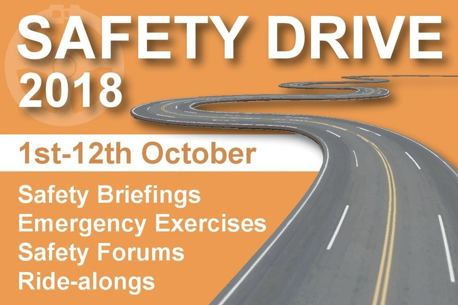 Safety Drive 2018 banner