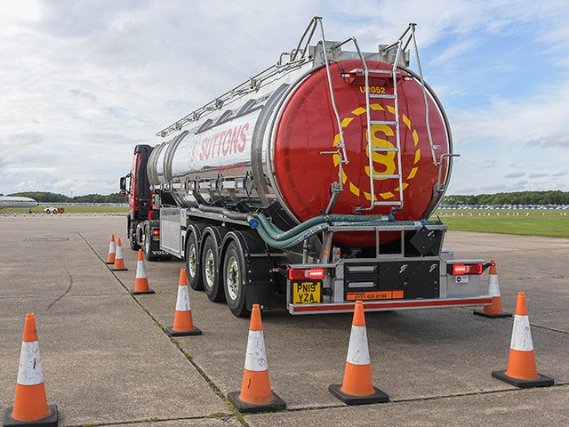 Suttons Tanker driver training