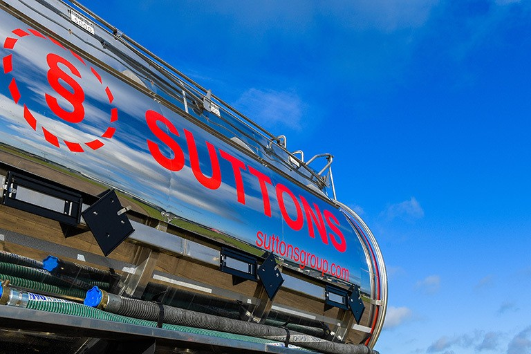 Side of suttons tanker
