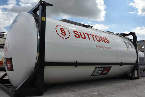suttons tank container